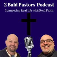 2 Bald Pastors   Connecting Faith and Life   Inspiration and Encouragement for Christian Leaders   Joe McGarry Geoff Sinibald logo