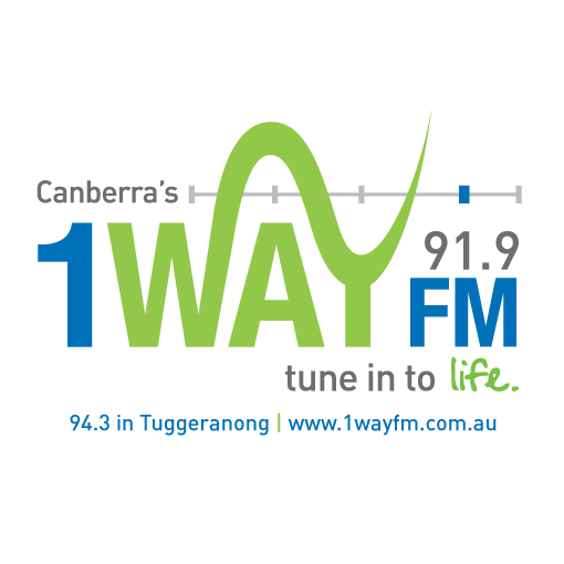 1 Way 91.9 FM logo