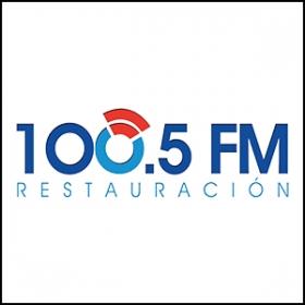 100.5 FM Restauracion logo