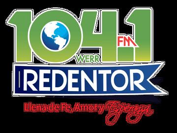 104.1 FM - Redentor logo