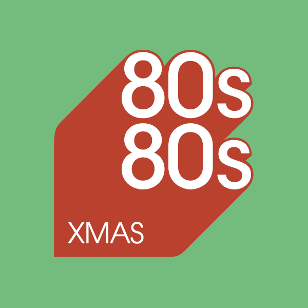 80s80s Christmas logo