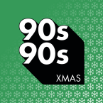 90s90s Christmas logo