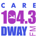 Care 104.3 DWAY-FM logo